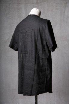 画像7: Wir Lineal / リネアル / WL-1102-311 / Inorganic structure dolman sleeve L/R T-shirts (7)