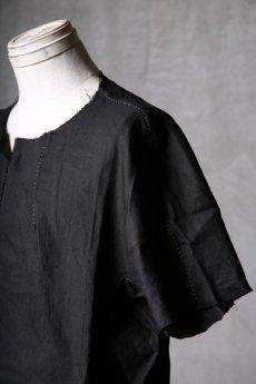 画像16: Wir Lineal / リネアル / WL-1102-311 / Inorganic structure dolman sleeve L/R T-shirts (16)