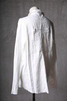 画像7: Wir Lineal / リネアル / WL-1101-311 / Inorganic structure dolman sleeve L/R Long sleeve Shirts (7)