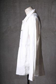 画像4: Wir Lineal / リネアル / WL-1101-311 / Inorganic structure dolman sleeve L/R Long sleeve Shirts (4)