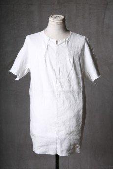 画像1: Wir Lineal / リネアル / WL-1102-311 / Inorganic structure dolman sleeve L/R T-shirts (1)