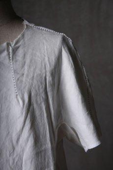 画像14: Wir Lineal / リネアル / WL-1102-311 / Inorganic structure dolman sleeve L/R T-shirts (14)