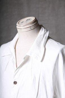 画像14: Wir Lineal / リネアル / WL-1101-311 / Inorganic structure dolman sleeve L/R Long sleeve Shirts (14)