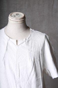 画像10: Wir Lineal / リネアル / WL-1102-311 / Inorganic structure dolman sleeve L/R T-shirts (10)