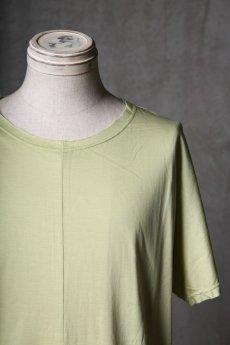 画像10: Wir Lineal / リネアル / WL-1106-311 / Inorganic structure dolman sleeve C/L T-Shirts (10)