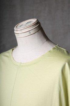 画像14: Wir Lineal / リネアル / WL-1106-311 / Inorganic structure dolman sleeve C/L T-Shirts (14)