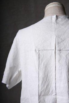 画像19: Wir Lineal / リネアル / WL-1102-311 / Inorganic structure dolman sleeve L/R T-shirts (19)