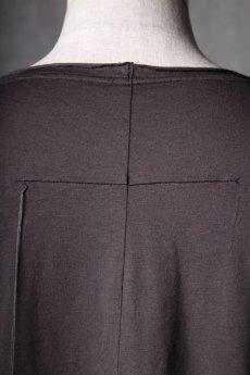 画像20: Wir Lineal / リネアル / WL-1106-311 / Inorganic structure dolman sleeve C/L T-Shirts (20)
