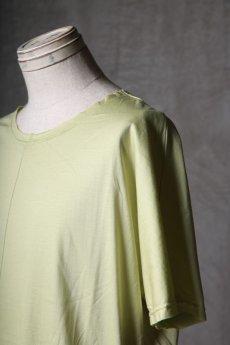 画像16: Wir Lineal / リネアル / WL-1106-311 / Inorganic structure dolman sleeve C/L T-Shirts (16)