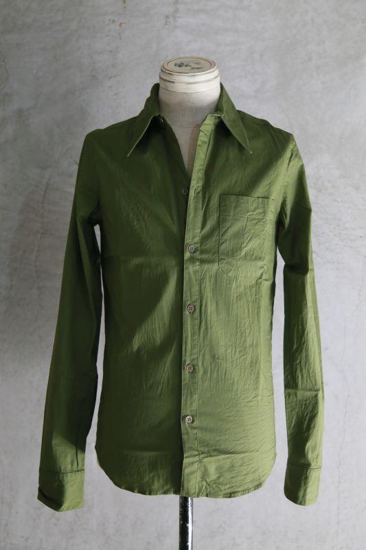 画像1: Thee OLD CIRCUS '' Old Number '' / CLOUDY / ブロードストレッチスタイルシャツ (1)