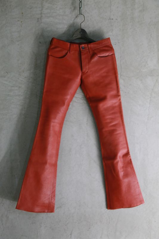 画像1: Thee OLD CIRCUS '' Old Number '' / JB 5150 / IRON HORSE LEATHER PANTS (1)