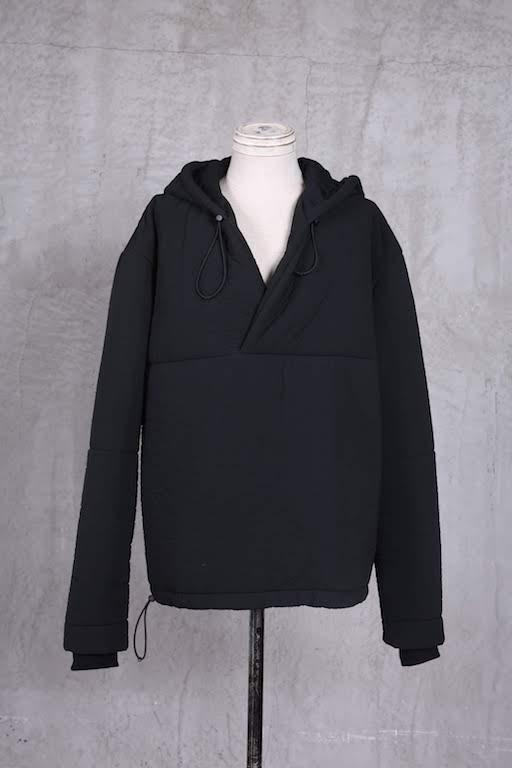 画像1: Nostra Santissima / ノストラ サンティッシマ / F14 PU Hooded Pullover (1)