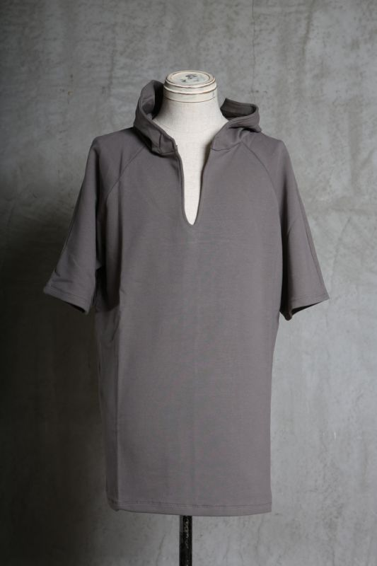 画像1: incarnation / インカネーション / 32085-3400 / CUT & SAWN CUT HOODED RAGLAN #2 SHORT SLEEVE (1)