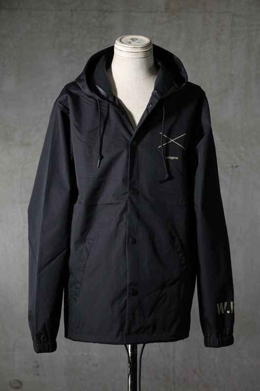 "画像1: Old GT / WR-7308 '' DARK BLACK OIL "" / RAIN STOPPER NYLON HOOD JKT (1)"