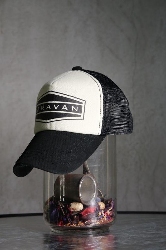 """画像1: Old GT / WR-7309 """" CARAVAN """" / OLD STONE BASEBALL CAP (1)"""