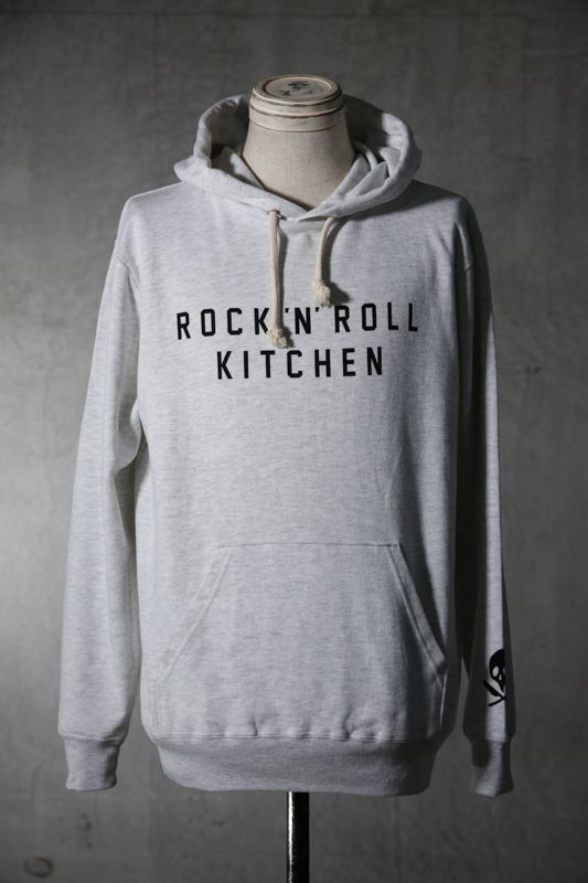 "画像1: Old GT / WR-0003 '' OLIVE OIL TEARS "" / RRK LIGHT WEIGHT SWEAT HOODIE (1)"