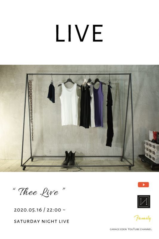 画像1: Thee LIVE / 2020.05.16 _ 20:00 ~ / Saturday Night LIVE (1)