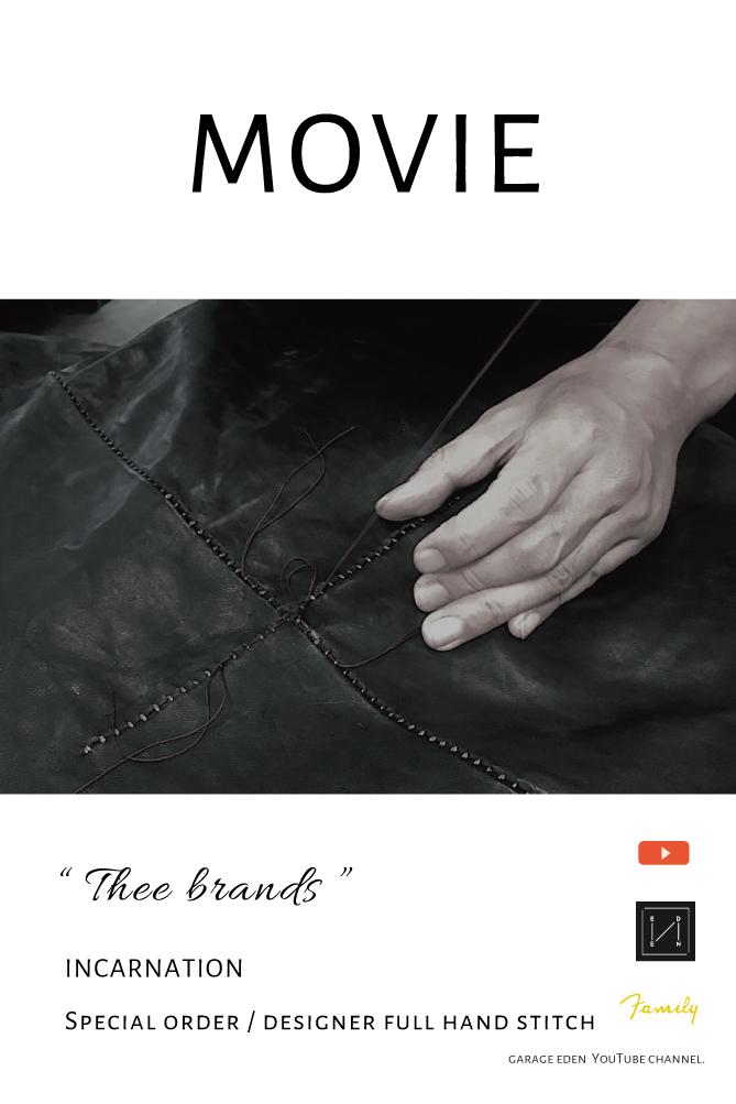 画像1: Thee BRAND / incarnation / Special order / designer full hand stitch (1)