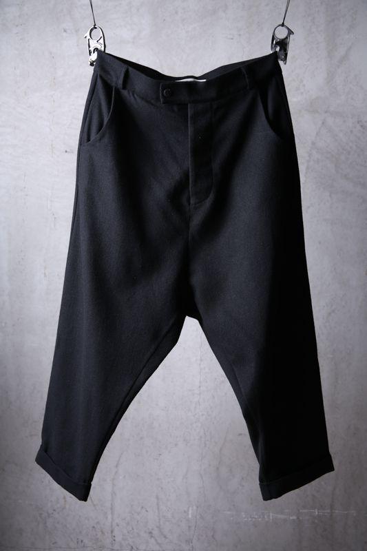 画像1: NostraSantissima / ノストラ サンティッシマ / P30 / Wool blend sarouel wide pants (1)