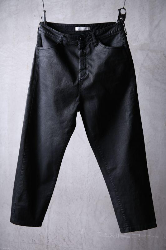 画像1: NostraSantissima / ノストラ サンティッシマ / P04 / Overfit stretch coated pants (1)