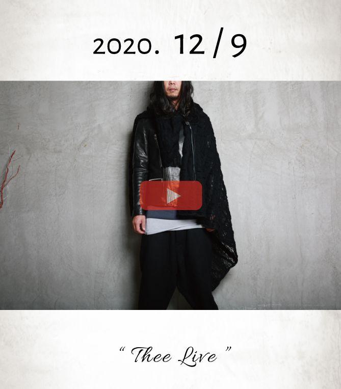 画像1: 「今週も変則放送!くれぐれもお間違えなく」 Thee LIVE _ 2020.12/09 _ Open at 20:00 (1)