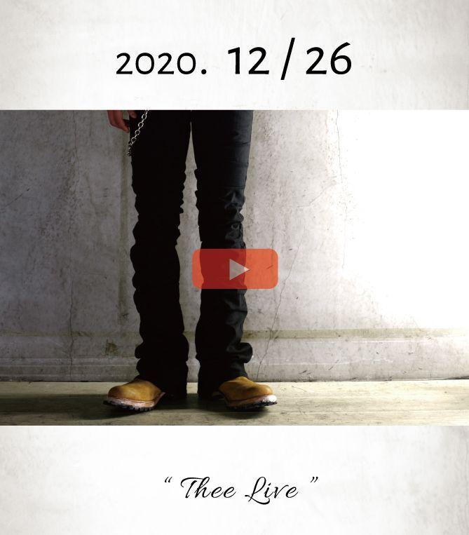 画像1: 「FINALE / 2020 ラストライブ」 Thee LIVE _ 2020.12/26 _ Open at 20:00 (1)