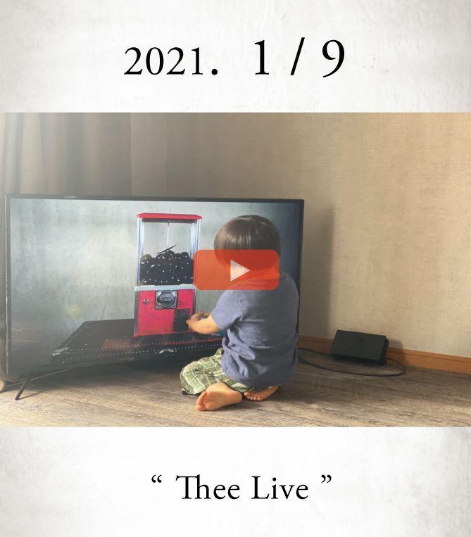 画像1: 「Thee First / 2021 ファーストライブ」 Thee LIVE _ 2021.1/9 _ Open at 20:00 (1)