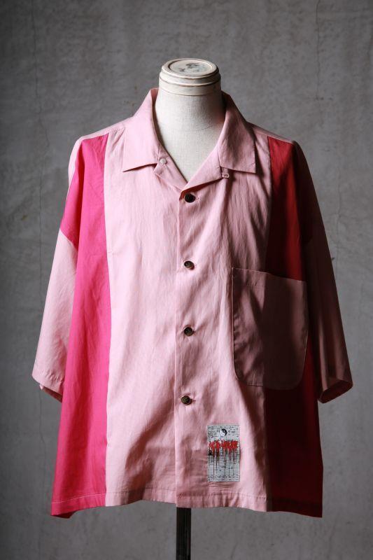 """画像1: JUVENILE HALL ROLLCALL / ジュヴェナイルホールロールコール / 1551 / """" FLUFFY CLOUD """" Open collar crazy shirt (1)"""