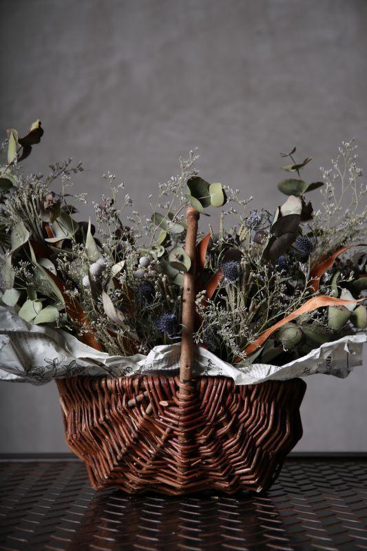 画像1: Ciliegio  / チリエージョ / CIL-F-0003 / Dried flower basket / #1 (1)