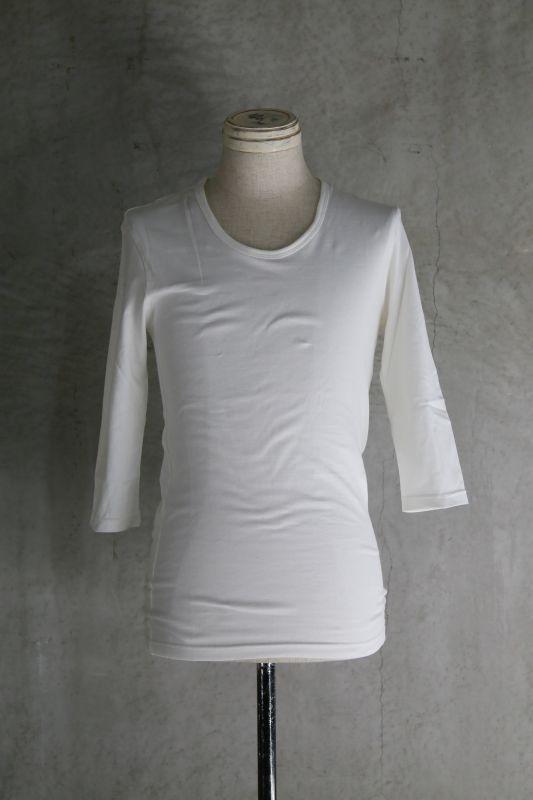 画像1: Thee OLD CIRCUS '' Old Number '' / 004 / WILD CHERRY  /  南三陸縫製 40/2ダブルヤーン 7S Tシャツ (1)